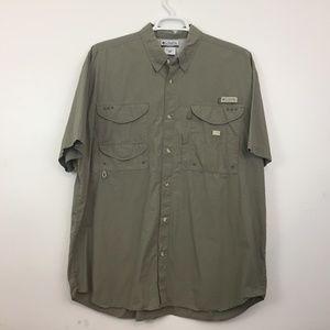 Columbia PFG Shirt Men's Size XL Fishing Vent